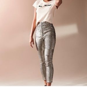 Urban Outfitters Leandra Sequin Leggings